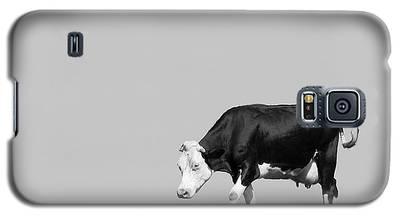 Black Hereford Galaxy S5 Case