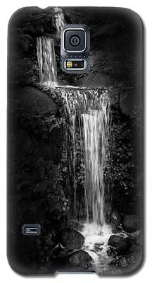 Black Magic Waterfall Galaxy S5 Case