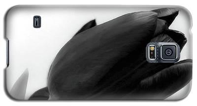 Black Tulips Galaxy S5 Case