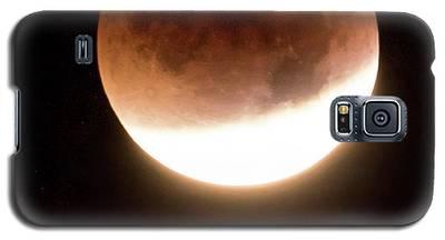 Blood Moon Eclipse Galaxy S5 Case