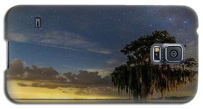 Blue Cypress Lake Nightsky Galaxy S5 Case
