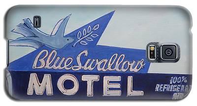 Blue Swallow Galaxy S5 Case