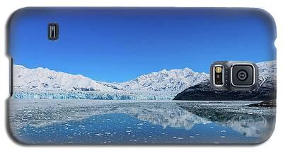Bluebird Day At Hubbard Glacier Galaxy S5 Case