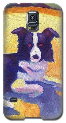 Border Collie Galaxy S5 Case