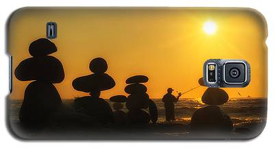 Boulders By The Sea Galaxy S5 Case