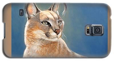 Bright Eyes - Caracal Galaxy S5 Case