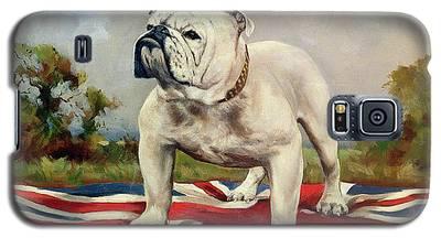 English Bulldog Galaxy S5 Cases