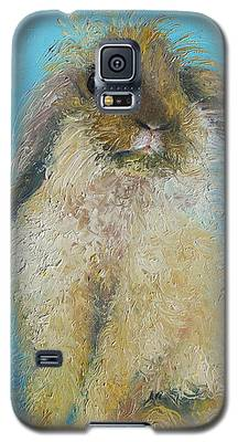 Brown Easter Bunny Galaxy S5 Case