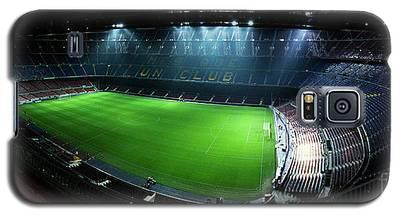 Camp Nou At Night Galaxy S5 Case