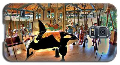 Carousel 2 At The Butchart Gardens Galaxy S5 Case