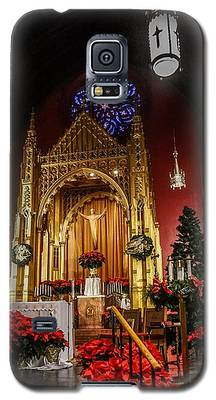 Catholic Christmas Galaxy S5 Case