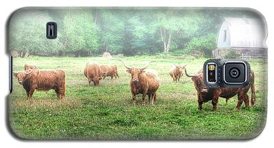 Cattle In The Mist Galaxy S5 Case