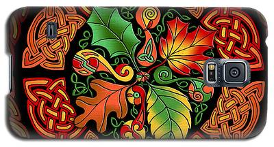 Celtic Autumn Leaves Galaxy S5 Case