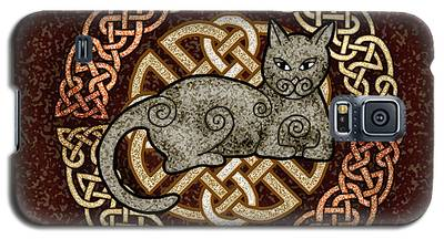 Celtic Cat Galaxy S5 Case