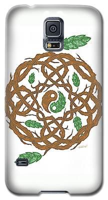 Celtic Nature Yin Yang Galaxy S5 Case
