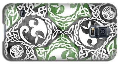 Celtic Puzzle Square Galaxy S5 Case