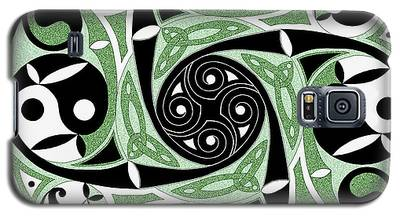 Celtic Spiral Stepping Stone Galaxy S5 Case