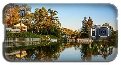 Centerport Harbor Autumn Colors Galaxy S5 Case