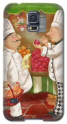Chefs Go To Market Iv Galaxy S5 Case