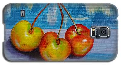 Cherries Trio Galaxy S5 Case