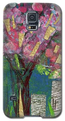 Cherry Blossom Too Galaxy S5 Case