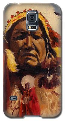 Chief Red Cloud Galaxy S5 Case