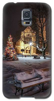 Church Of St Mary St Paul At Christmas Galaxy S5 Case