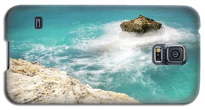 Cliff Views In Negril Galaxy S5 Case