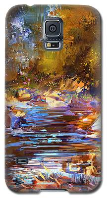 Colorful River Galaxy S5 Case