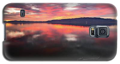 Colorful Utah Lake Sunset Galaxy S5 Case