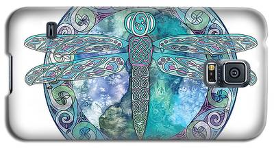 Cool Celtic Dragonfly Galaxy S5 Case