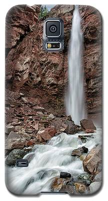 Cornet Falls In Spring Galaxy S5 Case