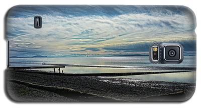 Crescent Beach At Dusk Galaxy S5 Case