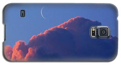 Crescent Moon In The Pink Galaxy S5 Case