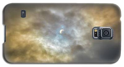 Curtain Of Clouds Eclipse Galaxy S5 Case