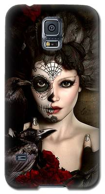 Darkside Sugar Doll Galaxy S5 Case