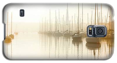 Dawn Reflections - Yachts At Anchor On The River Galaxy S5 Case