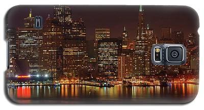 Downtown Gotham City Galaxy S5 Case