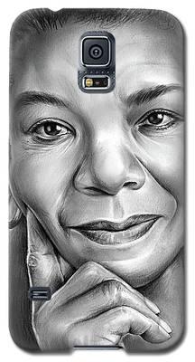 Dr Maya Angelou Galaxy S5 Case