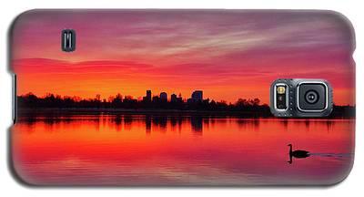 Early Morning Swim Galaxy S5 Case