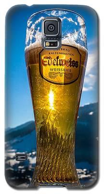 Edelweiss Beer In Kirchberg Austria Galaxy S5 Case