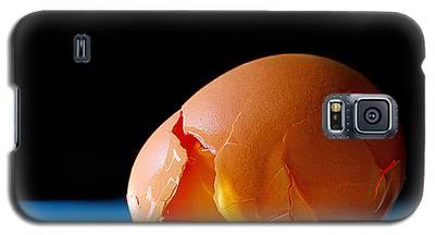 Egg Cracked Galaxy S5 Case