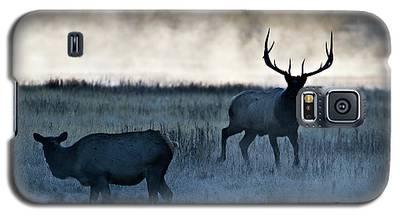Elk In The Mist Galaxy S5 Case