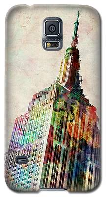 Empire State Building Galaxy S5 Cases