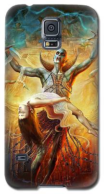 Evil God Galaxy S5 Case