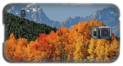 Fall In The Tetons Galaxy S5 Case
