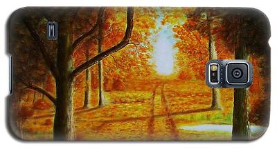 Fall In The Woods Galaxy S5 Case