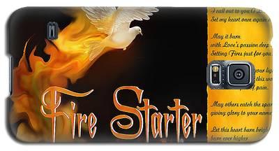 Fire Starter Poem Galaxy S5 Case