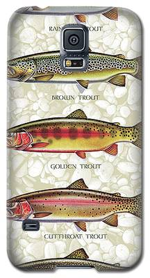 Trout Galaxy S5 Cases