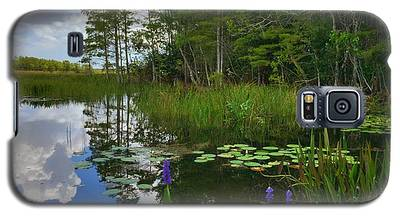Florida Wetlands Reflections Galaxy S5 Case
